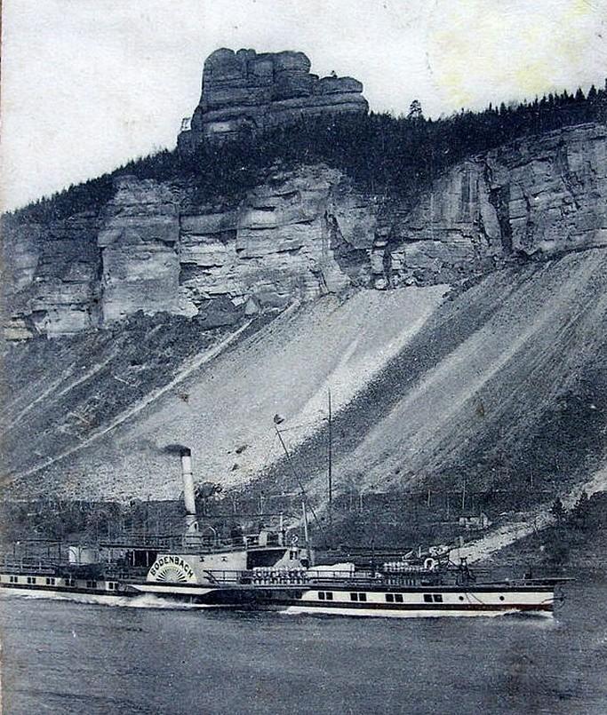 1904vor PD BODENBACH unterhalb der Halde am Thorstein