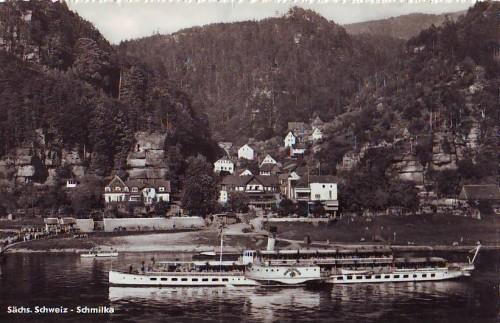 1930 um in Schmilka, PK aus Internet