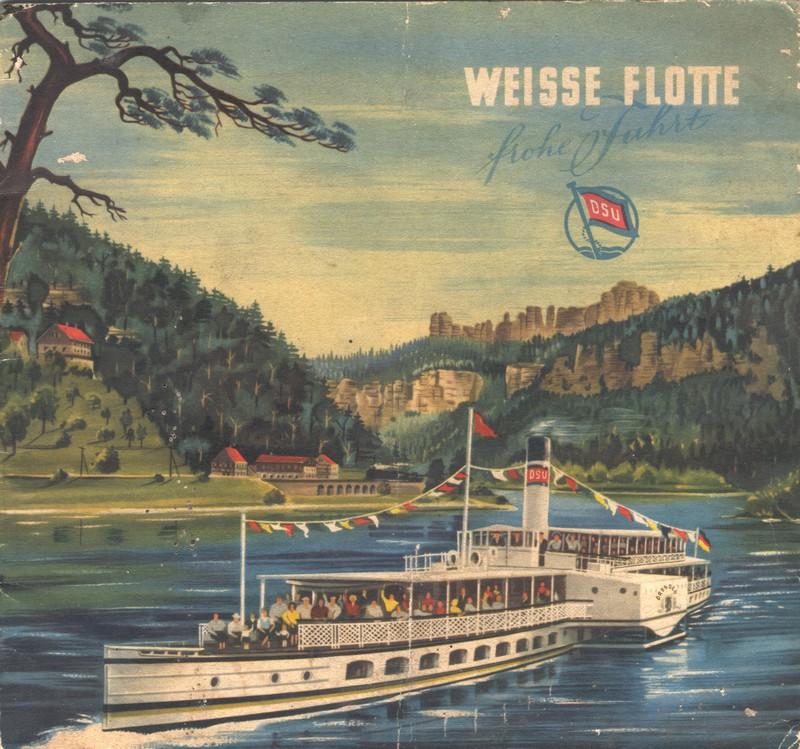 1955-um DRESDEN auf Werbeprospekt, Samml. M.Kaiser