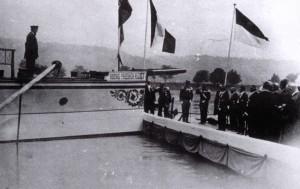 DS König Friedrich August Schiffstaufe am 8.7.1911