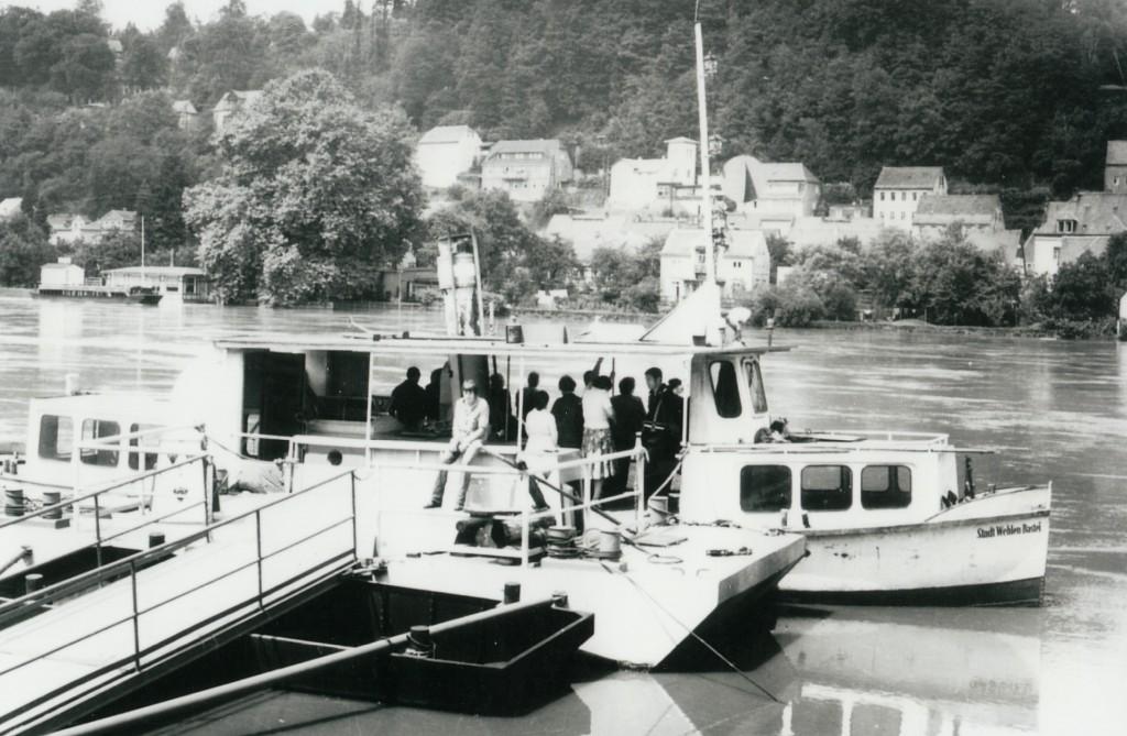 DF Stadt Wehlen-Bastei in Stadt Wehlen um 1978