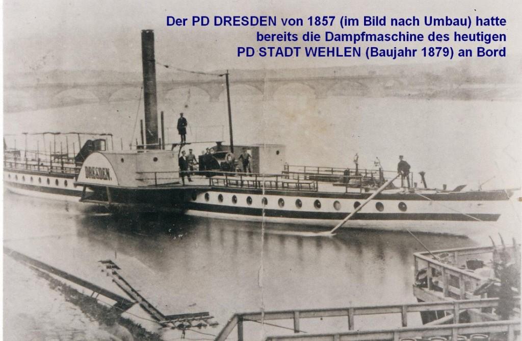 DS Dresden nach Umbau in Dresden