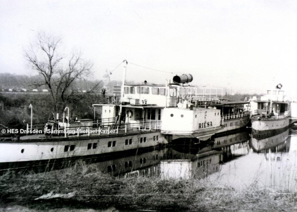 1978-03 RIESA und BAD SCHANDAU abgestellt - SMK Heidenau