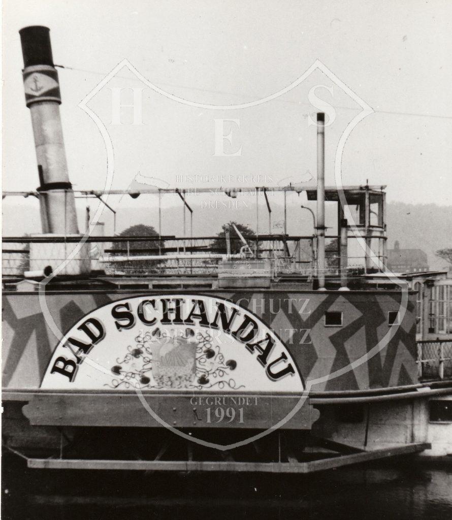 1943 PD Bad Schandau - vorm Kriegseinsatz 1943-44 in Dessau mit Tarnanstrich versehen