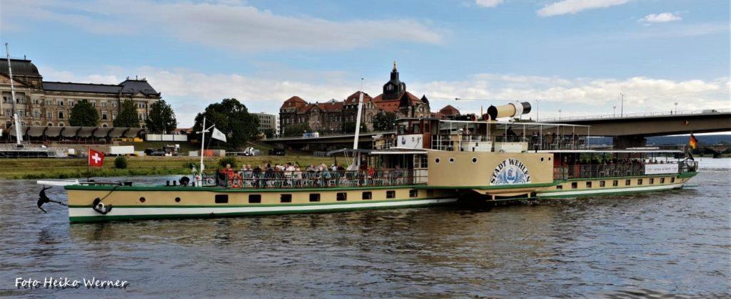 2020-09-02 STADT WEHLEN mit Helvetia Richtung Meissen - Foto Heiko Werner