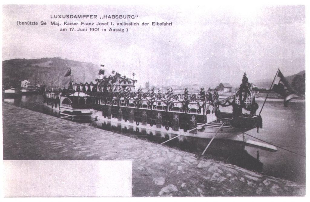 1901-06-17_01 PD HABSBURG zur Kaiserfahrt - Samml Pejsa