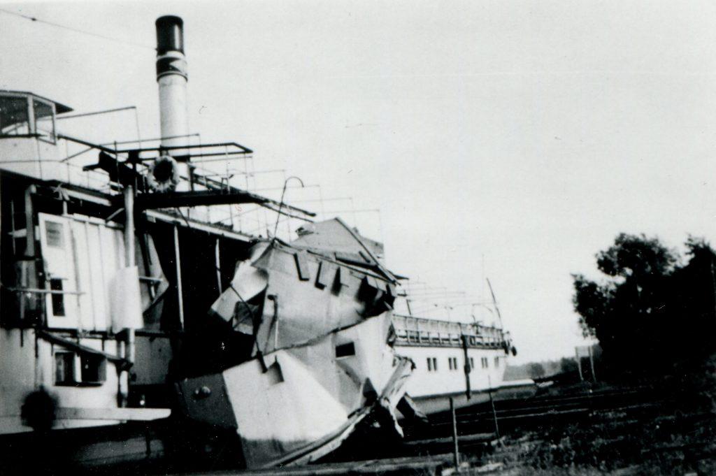 1941 KARLSBAD nach Radkastenhavarie vom 20.08. - Foto J. Lehmann