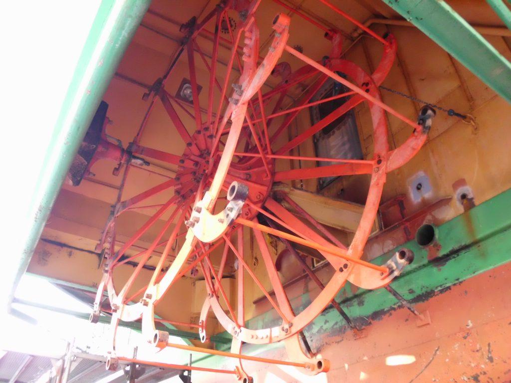Schaufelrad eines Dresdner Raddampfers